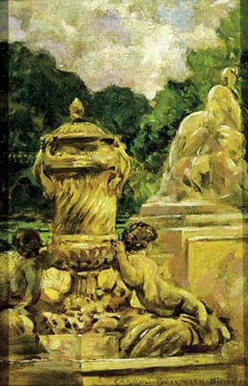 Jardin de la Fontaine Aa Nimes, Fran