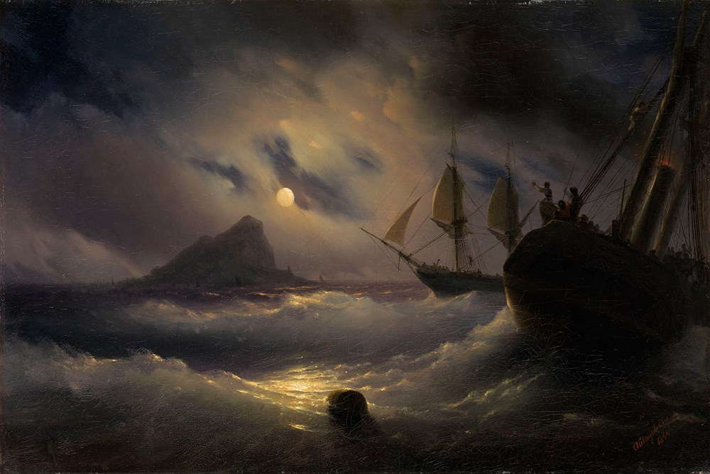 Sea view by Moonlight