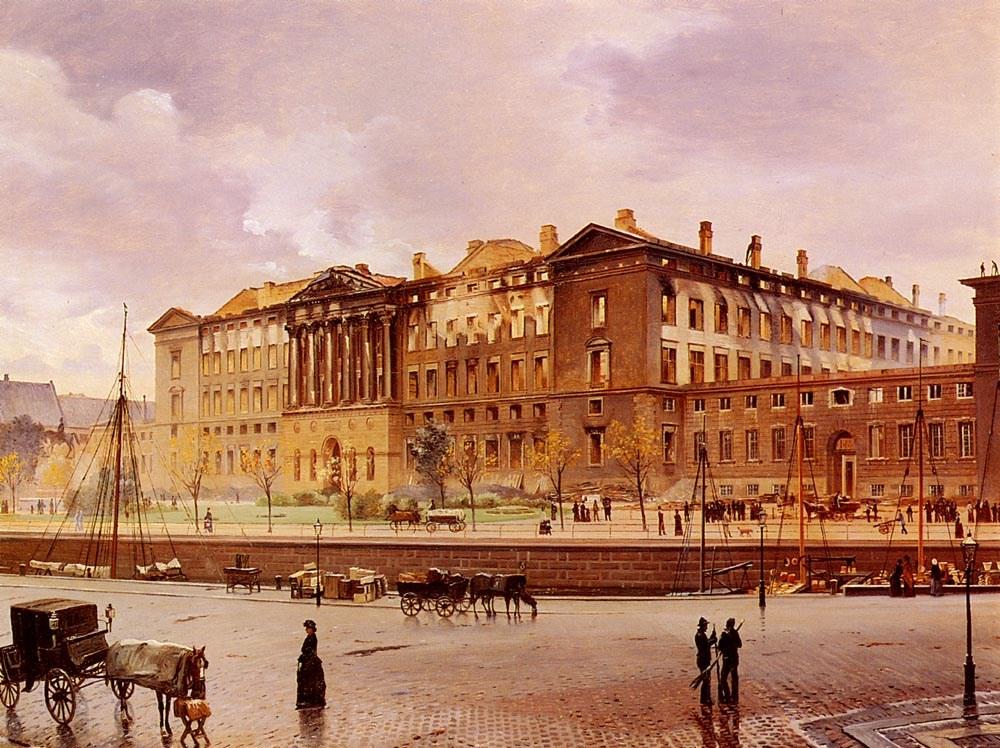 Christiansborg Slot Efter Branden