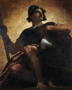 Uriel Standing in the Sunsun-large
