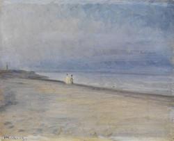 Strandszene Scene on the strand