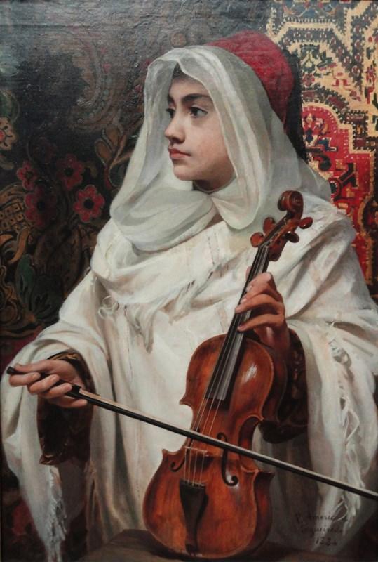 Arab fiddler