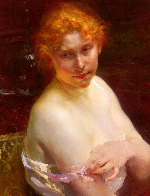 Portrait D'une Jeune Femme Portrait