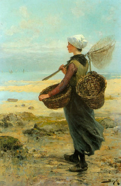 The Young Fisherwoman