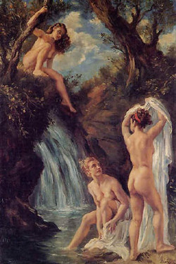 The bath of the nymphs