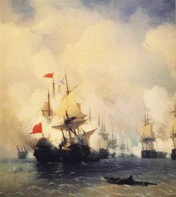 Naval Battle at Chios