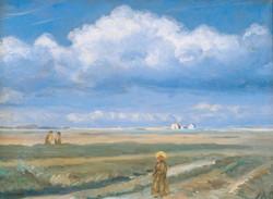Moorland Landscape, Skagen, Figures