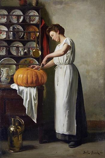 Bail_Franck_Antoine_Carving_The_Pumpkin_
