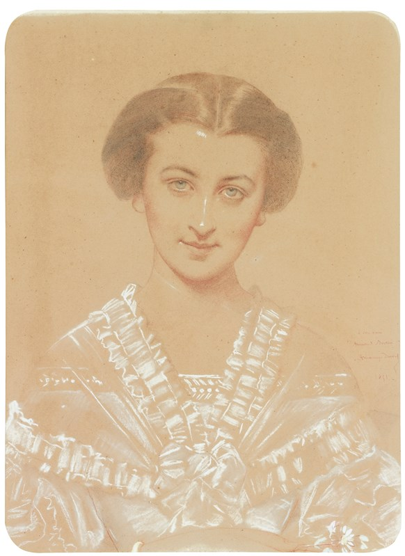 Portrait of Marie Bertin