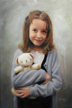 Mary with her Teddy