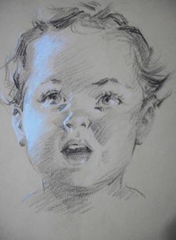 Baby Face Sketch