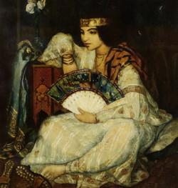 Lady with a Fan