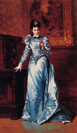 Her Fiance's Portrait