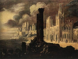 Landscape with Buildings