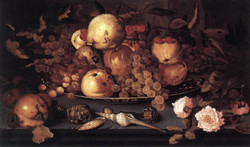 Still­life with Dish of Fruit
