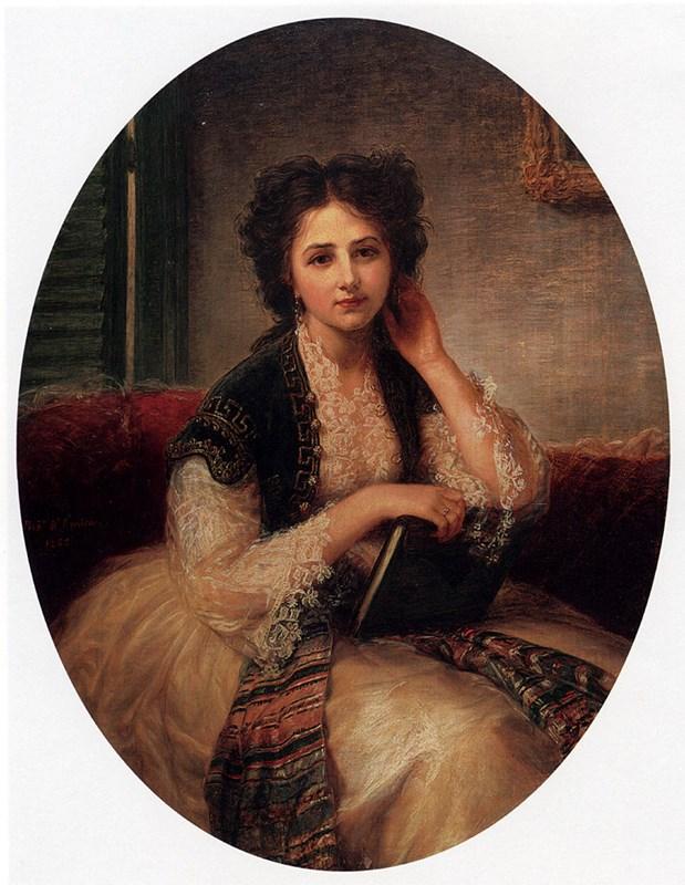 Mademoiselle Helene Cassaverti, thre