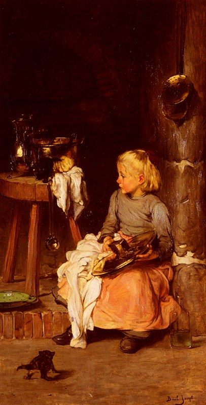 The Little Girl with the Cauldron