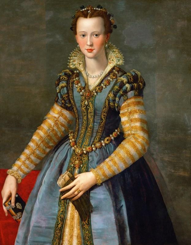 Portrait of Maria de'Medici(1540-155