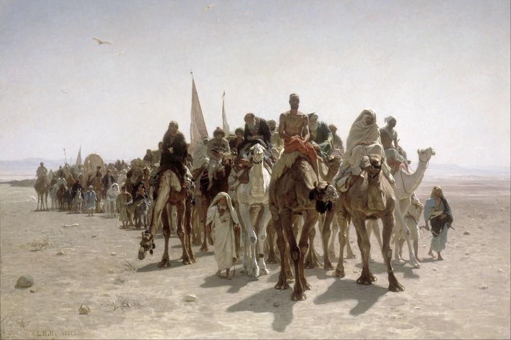 Pèlerins allant à La Mecque Pilgrims