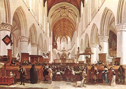 The Interior of the Grote Kerk (St B