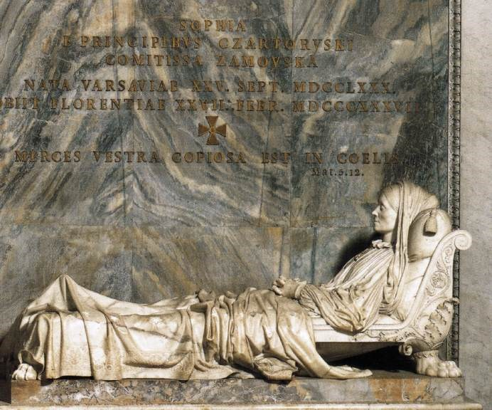 Tomb of Princess Sophia Zamoyka