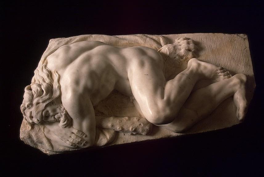 Sleeping Hercules circa 1550