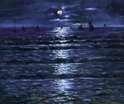 Full Moon on the Sea