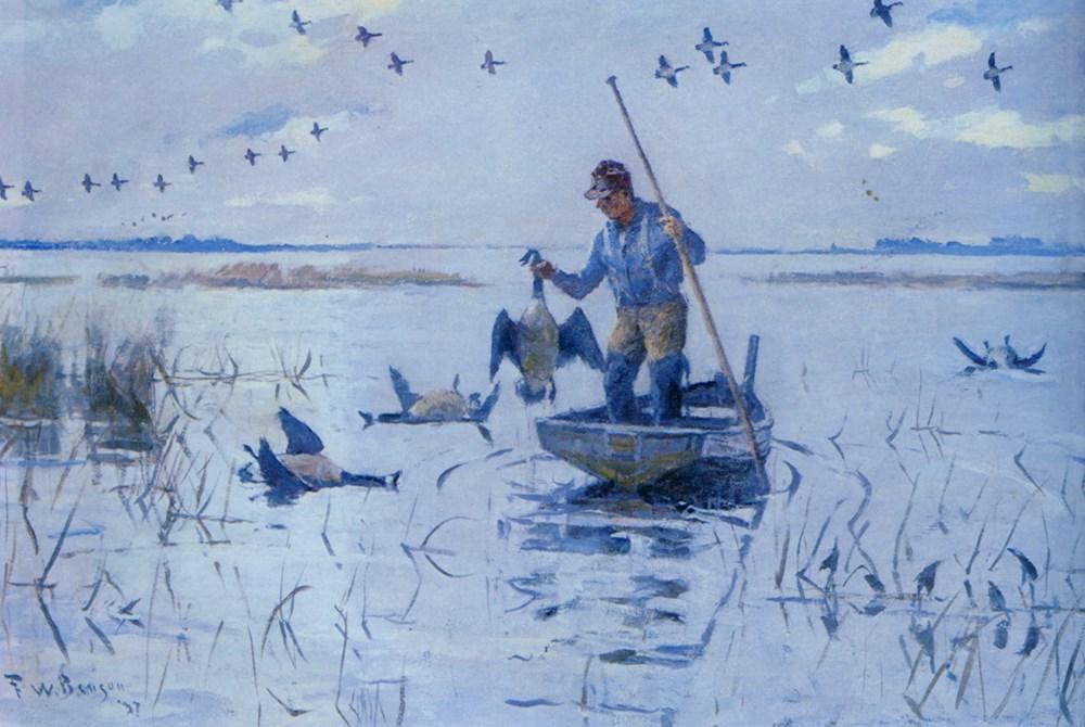 Retrieving Geese