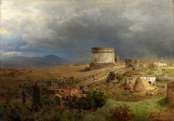 Via Appia with the Tomb of Caecilia