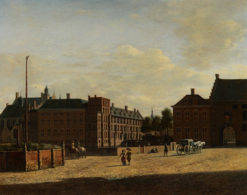 Plaats with The Binnenhof and The Ge
