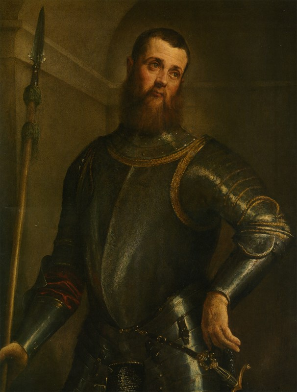 Portrait of a Military Commander thr