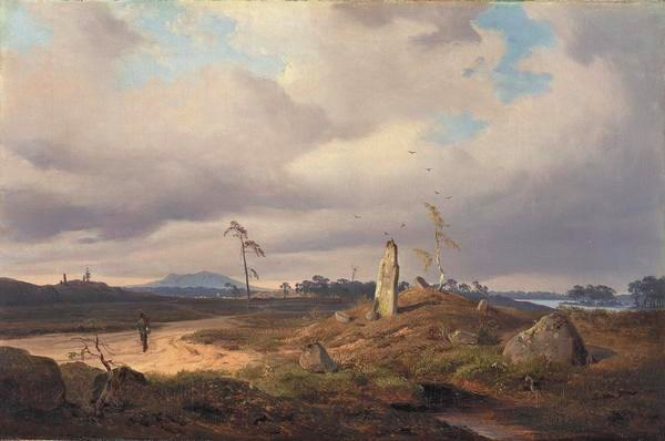 Landscape with Rune