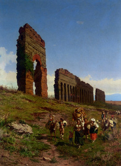 Passing the Ruins