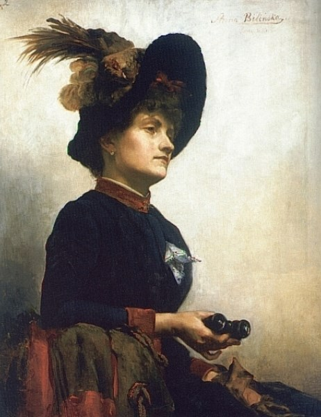 Portrait of a Lady with Opera Glasse
