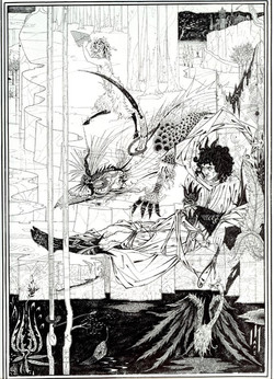 Illustration to 'Siegfried', Act II