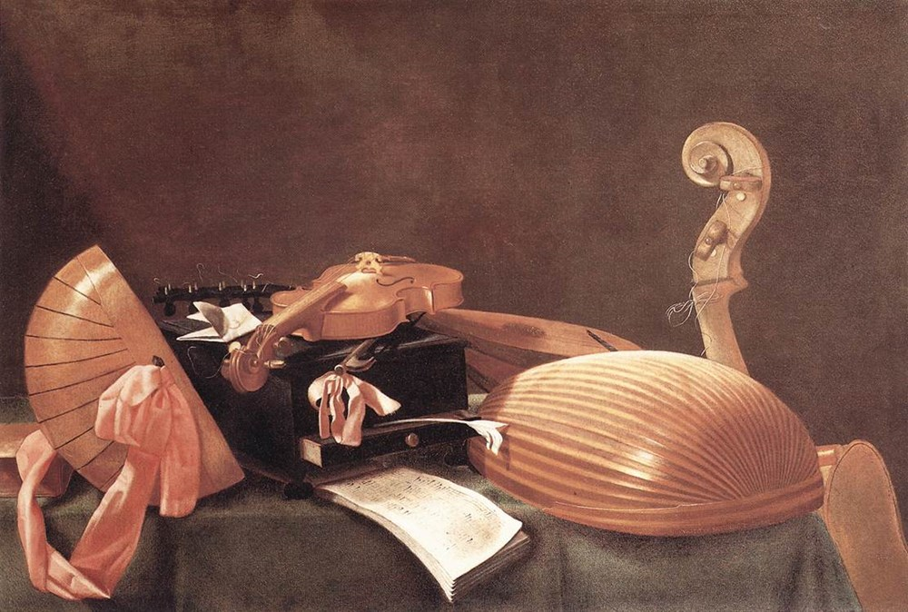 Still­life with Musical Instruments