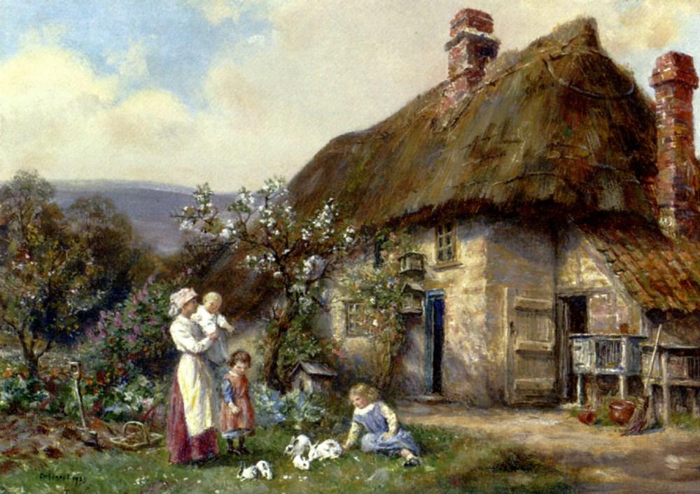 In A Cottage Garden
