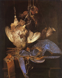Still Life with Hunting Equipment