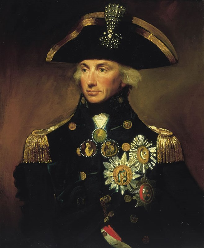 Rear­Admiral Sir Horatio Nelson