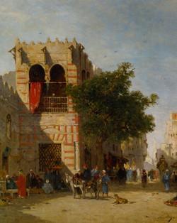 A Busy Street  Cairo
