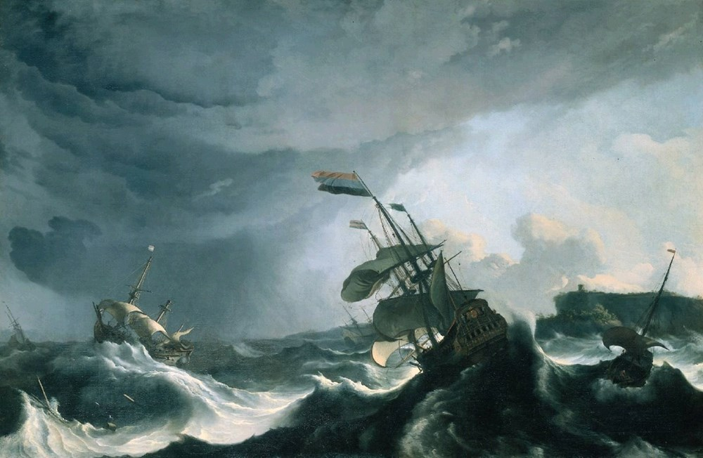 Ships in Distress in a Heavy Storm