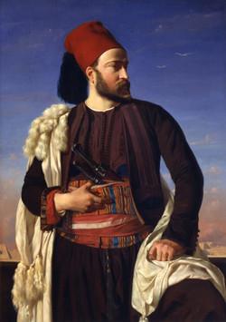 Portrait of Leconte de Floris in an