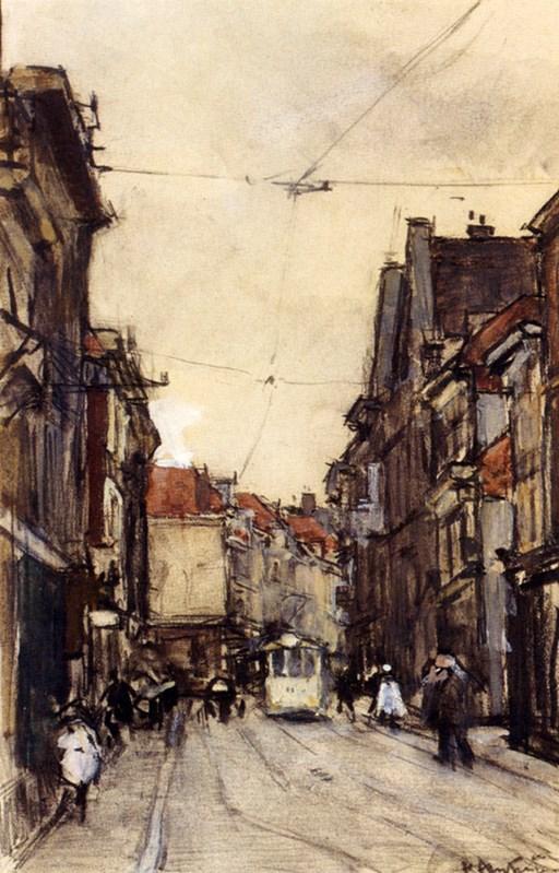A Busy Street, The Hague