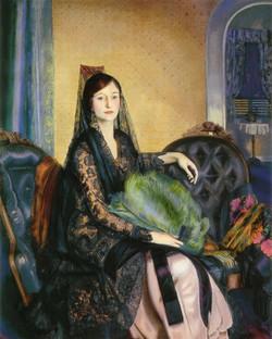 Portrait of Elizabeth Alexander 1924