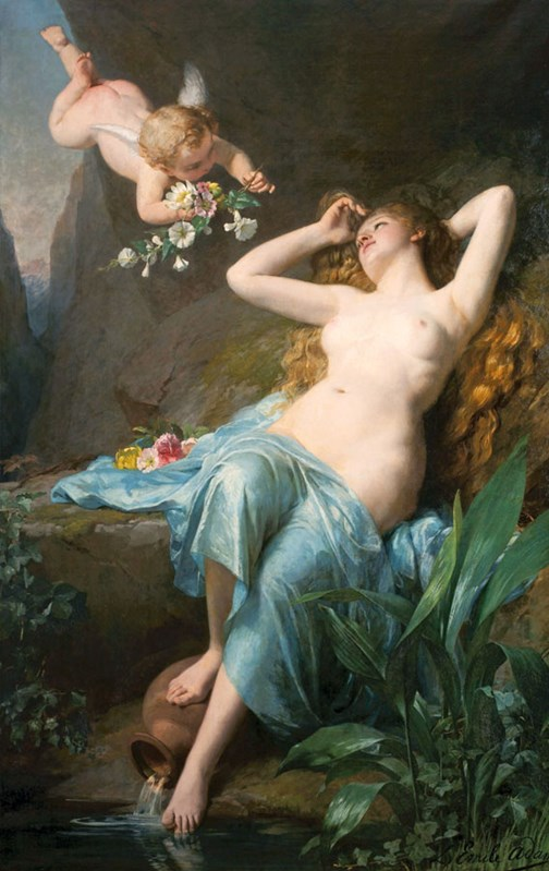L'Amour de la Nymphe The Love of the