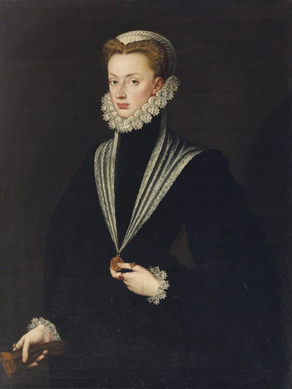Portrait of Archduchess Johanna of A