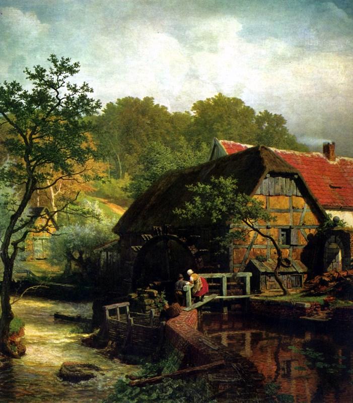 Westfälische Wassermühle