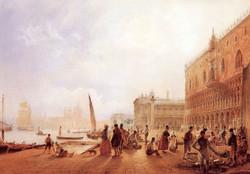 Figures On The Riva Degli Schiavone