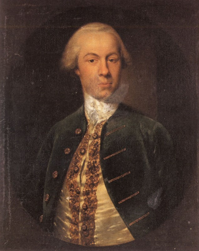 Portrait of General Allanby, Govenor
