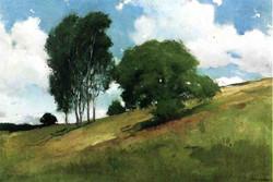 Landscape Painted at Cornish, New Ha
